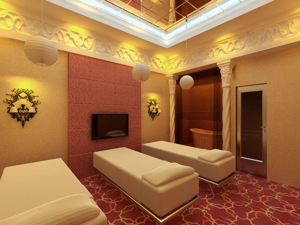 美容院室内装修设计图片欣赏