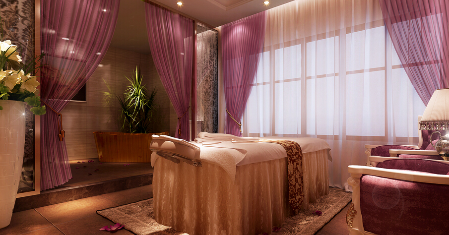 美容院房间设计装修效果图欣赏