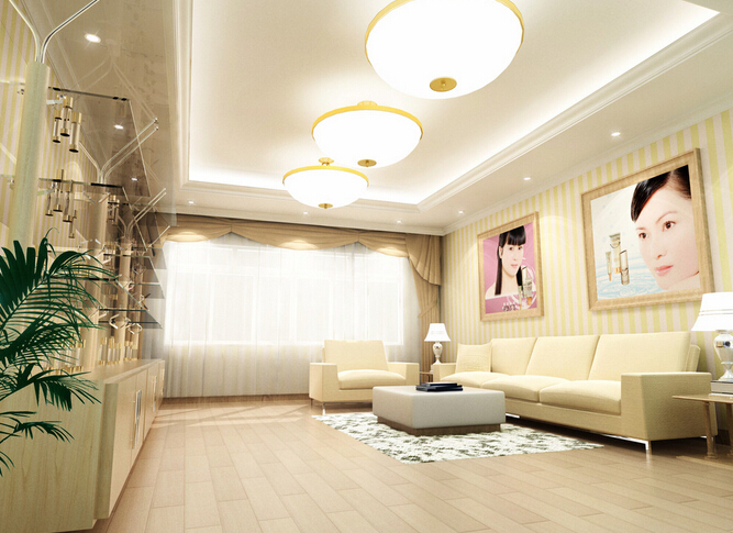 温馨美容院装饰设计图片