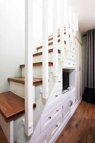 85平米房屋装修效果图楼梯设计