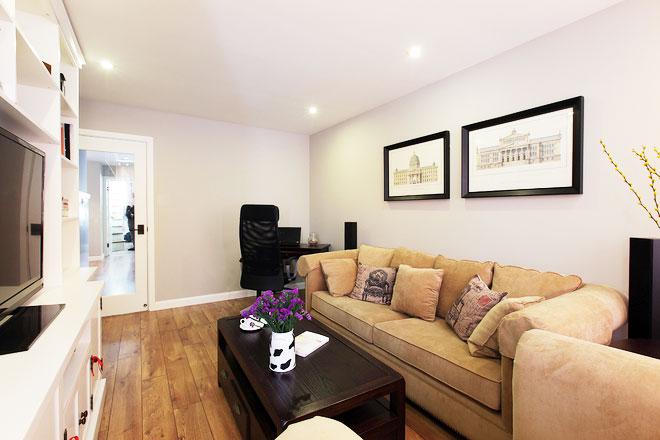 85平米房屋装修效果图沙发背景墙设计