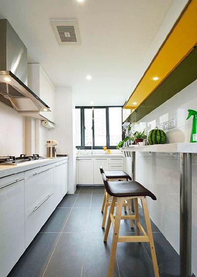 90平米房屋装修效果图厨房设计