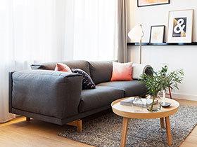 小户型空间设计 50平米简约风格