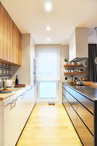 简约两室一厅装修厨房设计