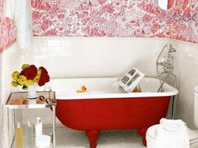 告别单调浴室 7款缤纷色彩浴缸效果图