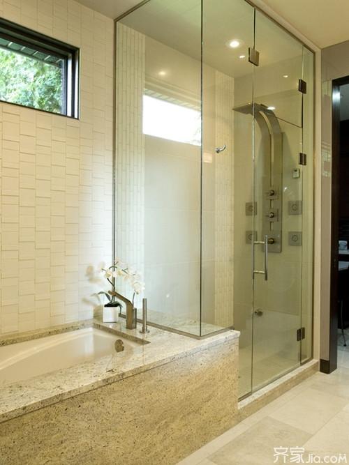卫生间淋浴隔断设计 彰显时尚个性