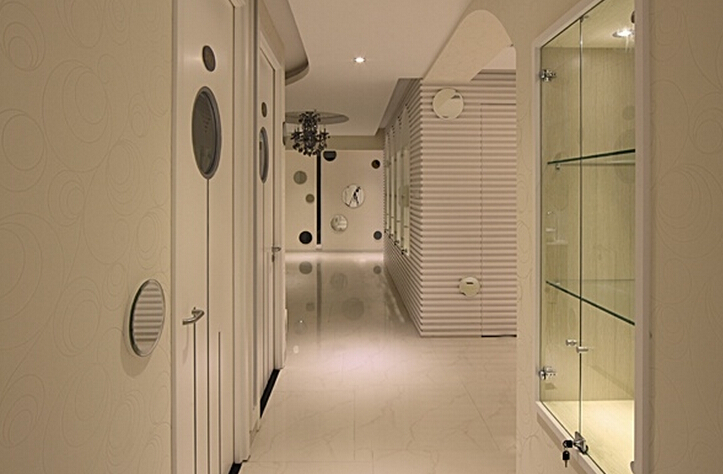 极简美容院设计室内图片