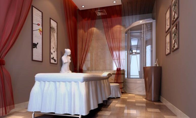 美容院房间设计装修效果图