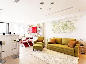 现代简约风公寓设计 宽敞的空间让人更喜欢