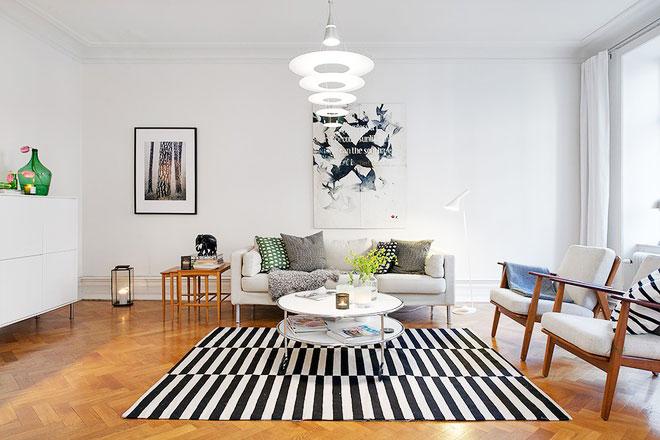 北欧装修风格设计客厅