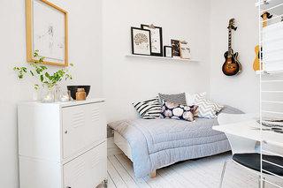 北欧风格白色110平米设计图