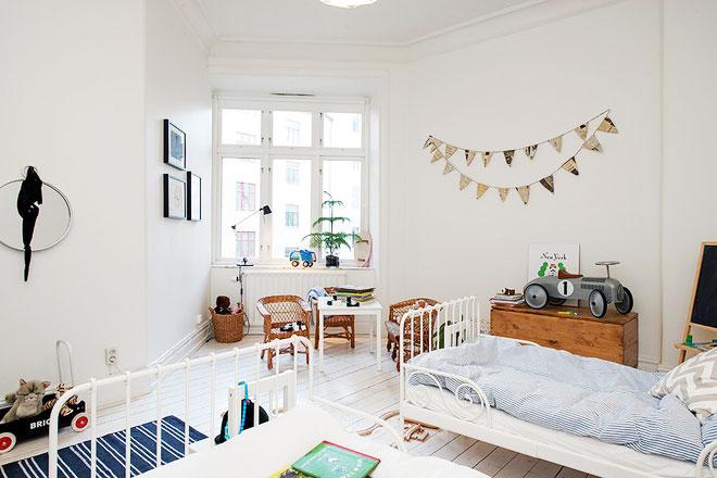 北欧装修风格设计儿童房
