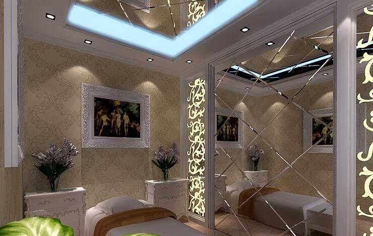 欧式美容院室内装饰图片