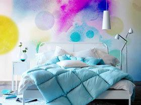颜料涂鸦墙 11款DIY墙面设计