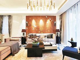 140平米法式中式混搭风格装修 高雅精致家