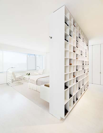 80平米简约公寓卧室设计