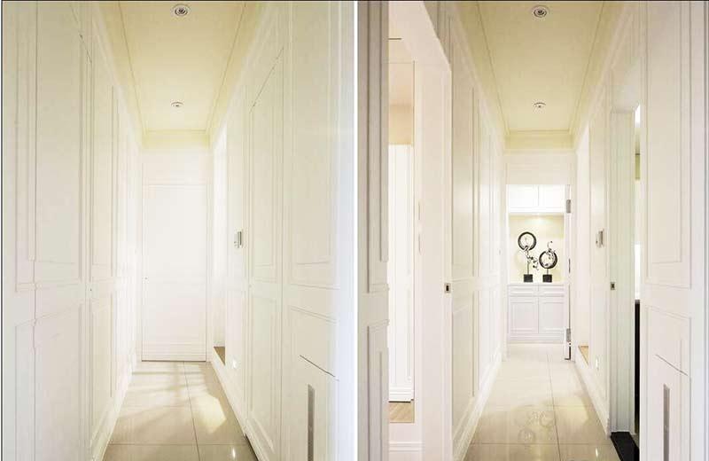 130平米欧式风格装修玄关设计