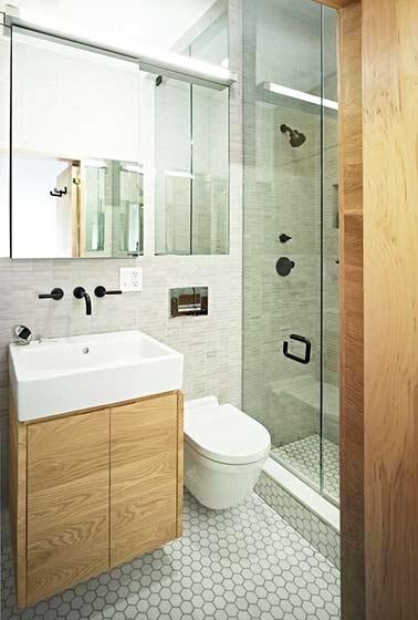 一室户设计效果图卫生间设计