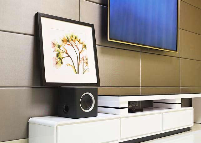 90平方米装修效果图客厅电视背景墙设计