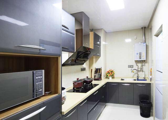 90平方米装修效果图厨房设计