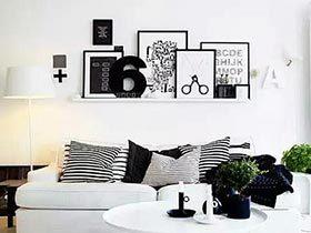 14个照片墙创意搭配法 让墙壁美丽变身