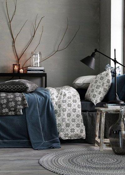 森系风格卧室效果图