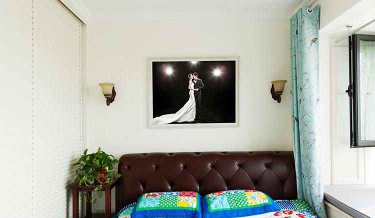 65平米美式装修风格卧室设计
