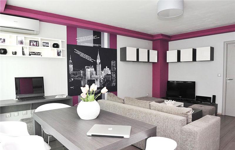 90平方装修效果图客厅餐厅设计