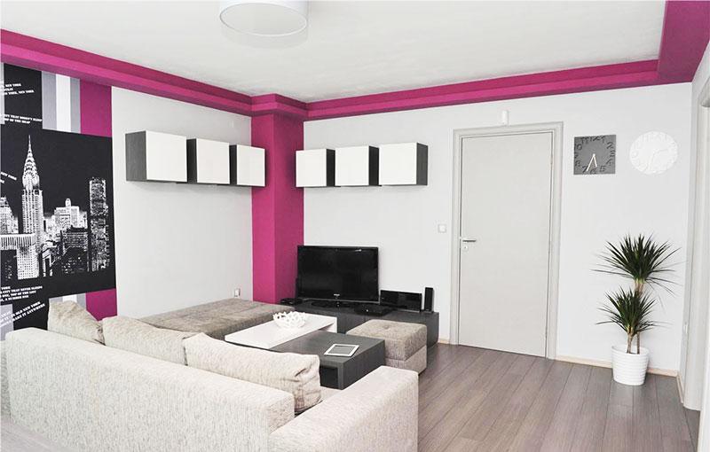90平方装修效果图客厅墙面设计