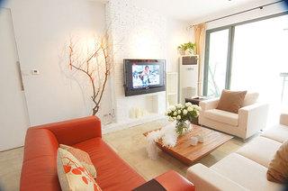 一居室小户型装修图温馨客厅设计