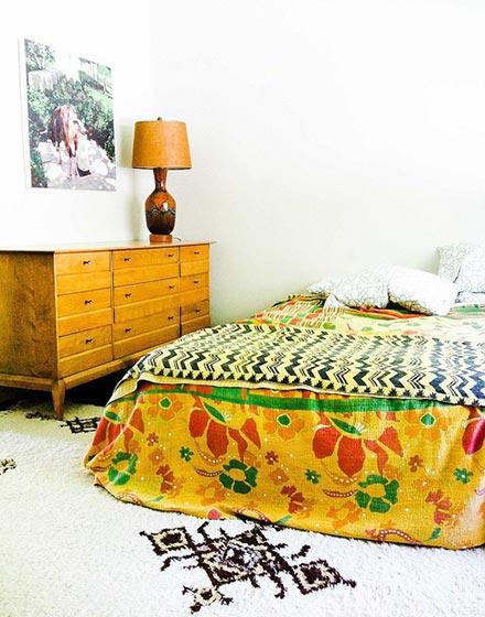 民族风复古卧室布置