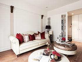 业主自己设计的新古典三居室  效果也很不错