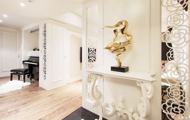 新古典风格公寓大气效果图