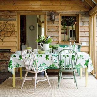森系原木餐厅设计