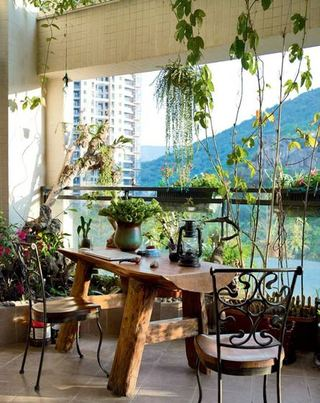 森系自然元素餐厅设计