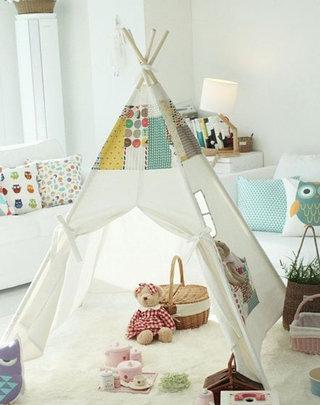可爱儿童帐篷效果图