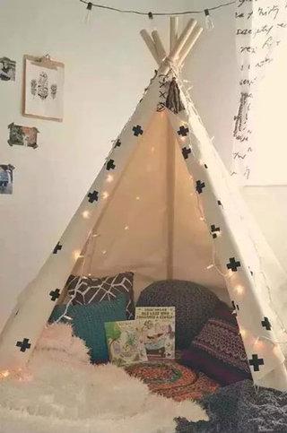 简洁儿童帐篷效果图