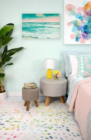 可爱的森系卧室设计图
