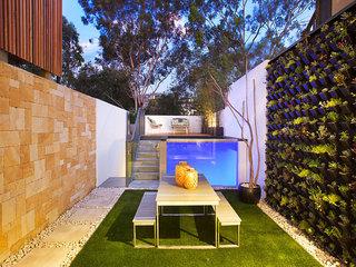 国外loft公寓效果图花园设计