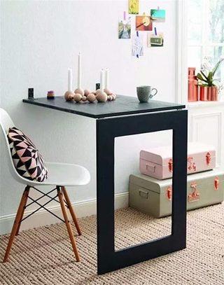 简约小户型折叠餐桌