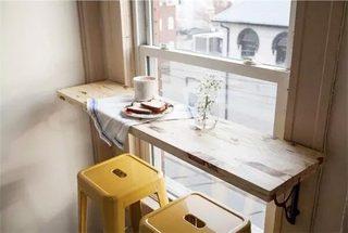 小户型折叠吧台餐桌