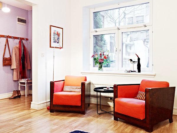 小户型复式装修客厅角落设计