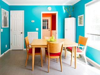 92平米三居室装修案例餐厅设计