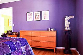 92平米三居室装修案例次卧角落设计