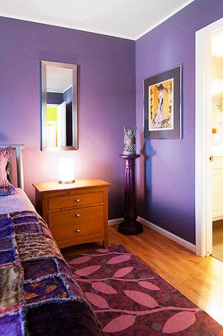 92平米三居室装修案例次卧过道设计