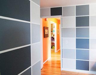 92平米三居室装修案例书房墙面设计
