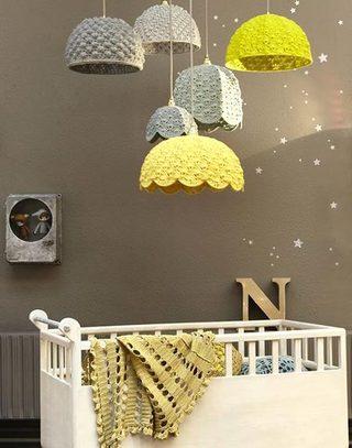 温馨婴儿房布置效果图