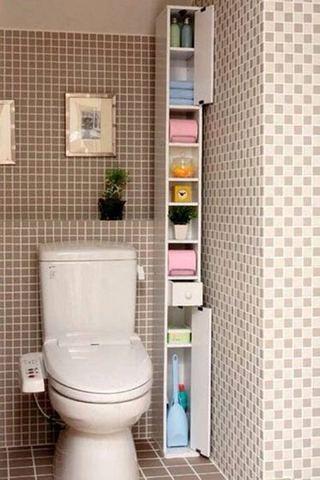 可爱收纳卫生间图片