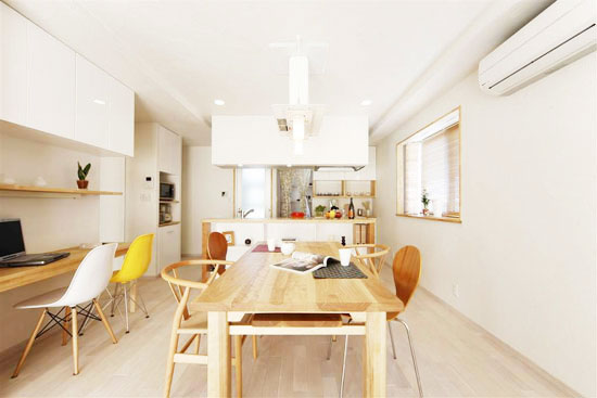 日式装修风格餐厅厨房设计