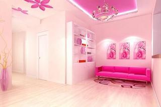 小型美容院室内装修图片